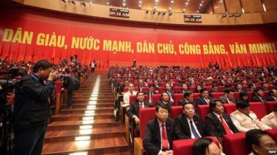 Ảnh minh họa: Các đại biểu tham dự lễ khai mạc Đại hội đảng 12 tại Hà Nội, ngày 21 tháng 1, 2016. Ảnh: EPA