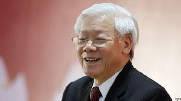 Tổng Bí thư đảng cộng sản Việt Nam Nguyễn Phú Trọng. Ảnh: EPA