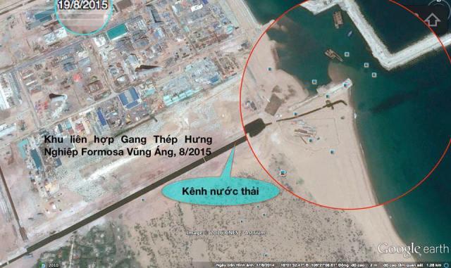 Ảnh: Google Earth/ Trần Song Hào