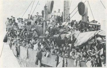 Thuyền nhân Việt Nam. Ảnh chụp ngày 28-12-1978 Philippines. Nguồn: JP Laffont/Sygma/Corbis