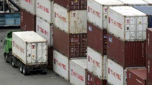 Container ở cảng của Đài Loan - hình chỉ có tính minh họa