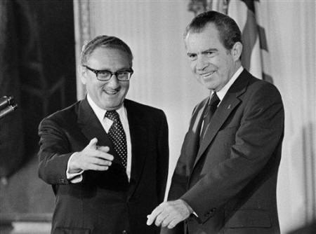 Henry Kissinger và Richard Nixon. Nguồn: internet