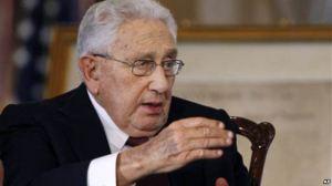 Cựu Ngoại trưởng Mỹ Henry Kissinger. Ảnh: AP