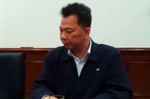 Ông Chu Xuân Phàm trong buổi họp báo ngày 26/4. Nguồn: internet