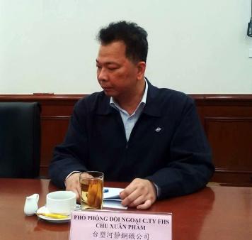 Ông Chu Xuân Phàm. Ảnh: Dân Việt