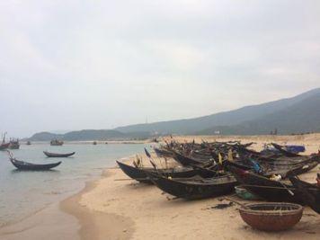 Ghe Kỳ Phương bỏ biển. Nguồn: FB Nguyễn Anh Tuấn