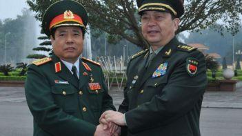 Ông Thường Vạn Toàn thăm Việt Nam. Photo: AFP