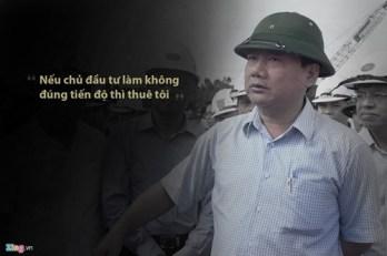 Ông Đinh La Thăng. Nguồn: Zing