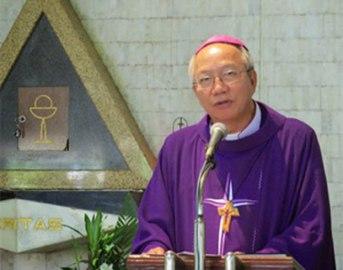 Đức giám mục Phao lô Nguyễn Thái Hợp, ảnh minh họa chụp trước đây. File Photo