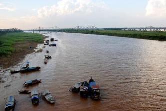 Sông Hồng. Nguồn: internet