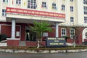 Trụ sở UBND quận Hoàng Mai. Nguồn: JB Nguyễn Hữu Vinh