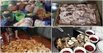 Người Việt đang tự đầu độc chính mình bằng thực phẩm bẩn, nhiễm độc. Ảnh: internet