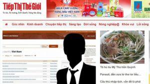 Báo Thế giới Tiếp thị đăng nhiều bài viết của nhạc sĩ Tuấn Khanh bàn về thời cuộc. Ảnh: BBC chụp màn hình báo TGTT