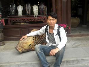 Tôi chọn cá. Ảnh: FB Lý Quang Sơn