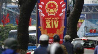 Bầu cử Quốc hội diễn ra ngày 22/5 tới. Ảnh: Reuters.