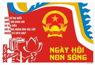 Bầu cử là ngày hội non sông? Nguồn: HanoiTV