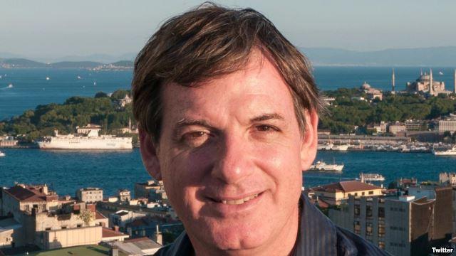Nhà báo theo dõi khu vực Đông Nam Á của BBC Jonathan Head. (Ảnh trên trang Twitter của phóng viên Jonathan Head). Ảnh: Twitter