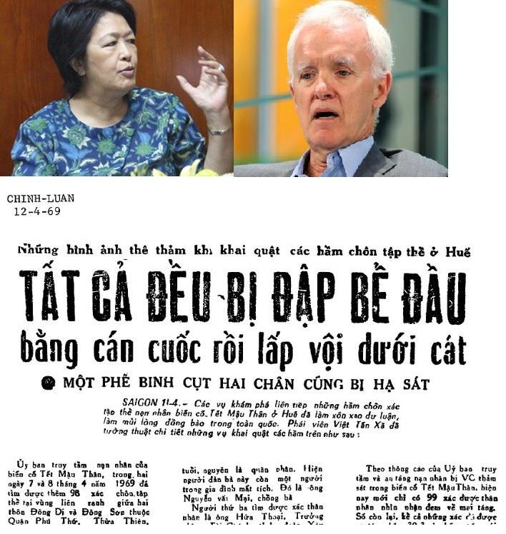 Bà Tôn Nữ Thị Ninh, ông Bob Kerrey và bản tin thảm sát Tết Mậu Thân.