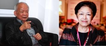 Nhà văn Nguyên Ngọc và bà Tôn Nữ Thị Ninh. Ảnh: internet