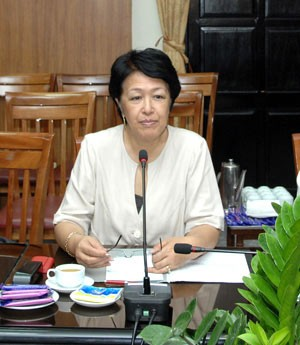 Bà Tôn Nữ Thị Ninh. Ảnh: internet