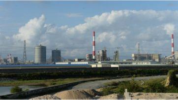 Nhà máy thép của tập đoàn Formosa ở tỉnh Hà Tĩnh. Nguồn: AFP