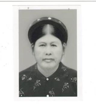 Bà Ba (tên thật là Trần Thị Nghi) quê Chí Chủ Phú Thọ. Ảnh: Lê Phú Khải