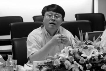 Giang Miên Hằng, cựu chủ tịch chi nhánh Thượng Hải của Viện hàn lâm Khoa học Trung Quốc, đang phát biểu tại một hội nghị vào ngày 16 tháng 7 năm 2005. (Ảnh: Viện hàn lâm Khoa học Trung Quốc)
