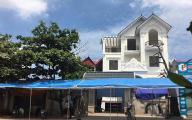Căn nhà của Thượng tá Trần Quang Khải, nơi sẽ tổ chức tại nhà tang lễ Quân khu 4 vào ngày 20/6
