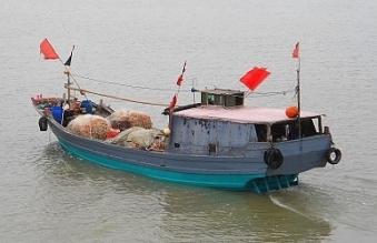 Một tàu cá của Trung Quốc. (Ảnh: The Diplomat)