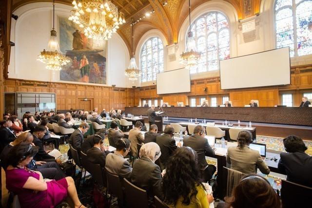 PCA tổ chức phiên điều trần kín ở Hà Lan để nghe Philippines giải trình các luận điểm quanh vụ kiện Trung Quốc từ ngày 7 tới 13/7/2015. Ảnh: PCA