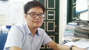 Nhà báo Mai Phan Lợi, người vừa bị Bộ 4T rút thẻ và bị tòa soạn đuổi việc. Anh trước hết là nạn nhân của chính các đồng nghiệp của mình trong làng báo quốc doanh. Ảnh: internet
