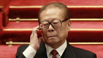 Nguyên Tổng bí thư đảng CSTQ Giang Trạch Dân. Ảnh: EPA