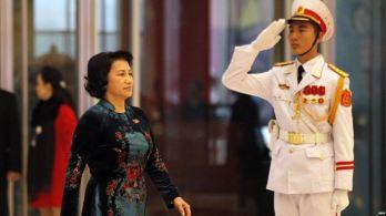 Chủ tịch Quốc hội Việt Nam Nguyễn Thị Kim Ngân. Ảnh: EPA