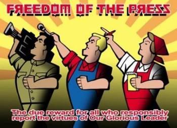 Tự do báo chí. Ảnh: internet