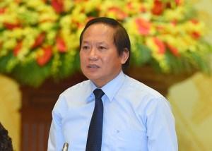 Bộ trưởng Bộ Thông tin và Truyền thông Trương Minh Tuấn - Ảnh: VGP