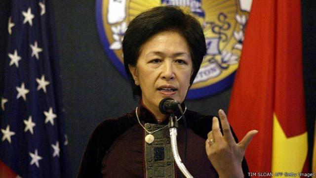 Bà Tôn Nữ Thị Ninh. Nguồn: Tim Sloan/ AFP/ Getty