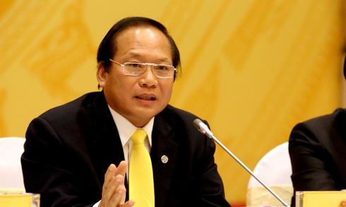 Bộ trưởng Thông tin và Truyền thông Trương Minh Tuấn. Ảnh: VTC