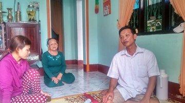 Ông Nguyễn Ngọc Hải với hành trình khó khăn đòi tiền đền bù bảo hiểm. Ảnh: DV