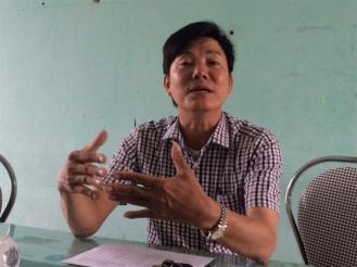PCT xã Cẩm Nhượng cho rằng việc chuyển đổi nghề ở Cẩm Nhượng là cực kỳ khó. Ảnh: NNVN
