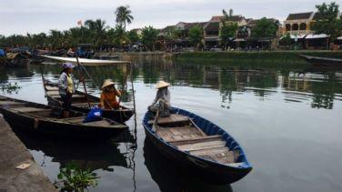 Du lịch Đà Nẵng - Hội An đón lượng khách Trung Quốc lớn. Ảnh: AFP