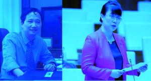 Ông Thanh và bà Hường.