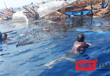 Tàu cá ngư dân Việt Nam liên tục bị tàu nước ngoài đâm chìm trên biển khi đang hoạt động đánh bắt hợp pháp. Ảnh: VietTimes
