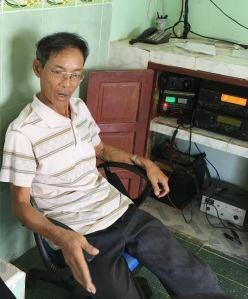 Một tàu cá của ngư dân miền Trung gặp nạn do tàu Trung Quốc gây ra. Ảnh: Dân Việt