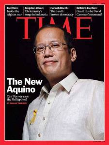 Năm 2013, Benigno Aquino III được Time xếp vào danh sách 100 nhân vật có sức ảnh hưởng nhất thế giới. Ảnh: Time