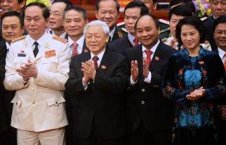 Bốn lãnh đạo (hàng đầu) cao nhất của ĐCS. Ảnh: internet