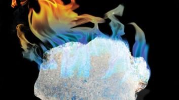 Biển Đông đã nóng hơn sau khi Trung Quốc tìm thấy băng cháy. Ảnh: internet