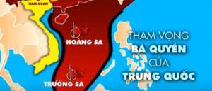 Trung Quốc muốn nuốt trọn biển Đông. Ảnh: internet