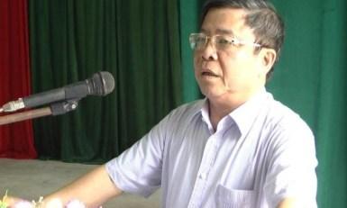 Ông Võ Kim Cự, cựu Chủ tịch UBND tỉnh, cựu Bí thư Tỉnh ủy Hà Tĩnh. Ảnh: internet