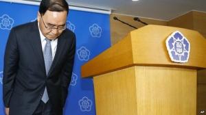 Thủ tướng Hàn Quốc Chung Hong-won. (Ảnh: AP)