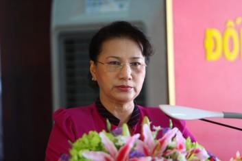 Tân Chủ tịch QH Nguyễn Thị Kim Ngân. Ảnh: internet